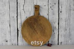 Planche à découper antique Planche à découper planche à pain vintage Chopper alimentaire rustique Décoration intérieure Décoration de cuisine