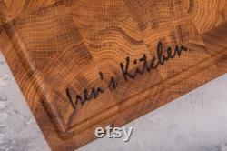 Planche à découper en bois, planche à découper personnalisée, planche à découper, bloc boucher, planche à extrémité, grande planche à découper en bois, hackblock, planche à découper
