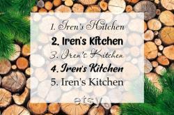 Planche à grains d extrémité en chêne, décor de cuisine, planches à découper, planche à découper personnalisée, planche à découper de recette de chêne, grande planche à découper en bois