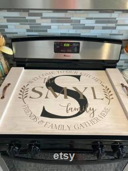 Planche de nouilles de couverture de poêle Ferme Bienvenue dans notre cuisine
