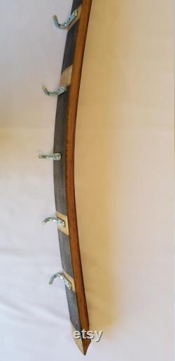 Porte Pots décoratifs casseroles de tonneau de vin porte-bougies