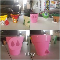 Pot d argile peint à la main de TOY STORY (5 )