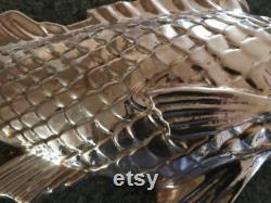 RARE moule saumon cuivre-énorme 26 long poisson-magnifique, Unique, Impossible à trouver-utile et décoratif-parfait pour les fêtes et Buffets