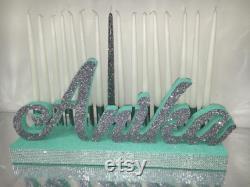 Sweet 16 Candelabra, Quinceanera and Mitzvah Candle Lighting Centerpiece