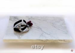 TENSHO Three Milieu de table en speciale marbre de Carrare,