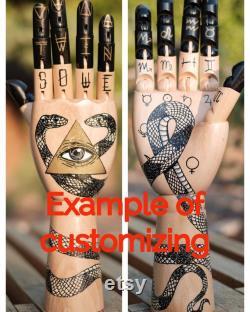 The Fortunate Hand, une uvre d art personnalisable organisée juste pour vous
