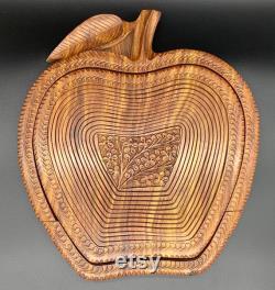 Trivet de pomme d île de cuisine à la décoration de panier cadeau d enseignant panier de bureau boule de fruit cadeau de crémaillère cadeau de mère pièce maîtresse